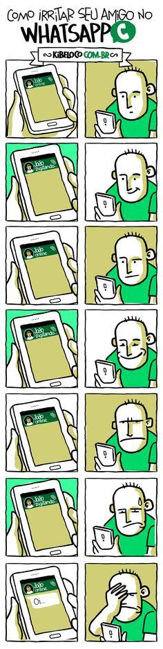 Hahaha eu odeio isso