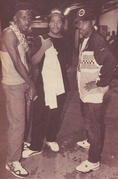Check yo self, set it of & bring the noise! Big Daddy Kane,  Ice Cube and Chuck D