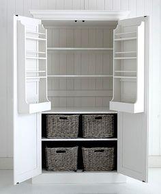 Cottage larder cupboard £1125 SAVE £100
