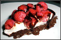 Very Berry Brownie Torte Recipe / Six Sisters' Stuff | Six Sisters' Stuff