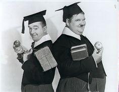 Laurel & Hardy publicity still