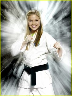 (Kickin' It Olivia Holt as Kim Crawford) she wasso young its hard to belieive this is her