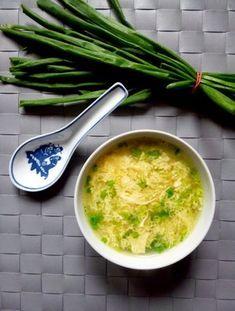 Podróże na języku: Chińska zupa jajeczna