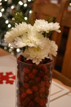 Center piece for your Christmas table