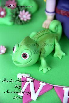RAPUNZEL CAKE - NELIA BIRTHDAY by CAKE BY NESRİN TONG, via Flickr