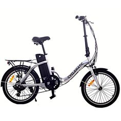 Ideal for cities, boots, boats and caravans - get further on your travels with the Cyclamatic Foldaway Electric Bike Don't let a lack of storage diminish your ebike fun! The brilliant model from Cyclamatic folds in half for easy stora Electric Bike Review, Best Electric Bikes, Folding Electric Bike, Electric Bicycle, Mountain Bike Reviews, Electric Mountain Bike, Mountain Biking, Mountain Bicycle, Buy Bike