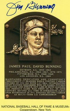 Jim Bunning Meet & Greet Appearance Event: Fanatics Authentic Sports Spectacular Date: Saturday, March 22, 2014 Time: TBA Location:  Donald E. Stephens Convention Center 5555 N. River Road Rosemont, IL 60018