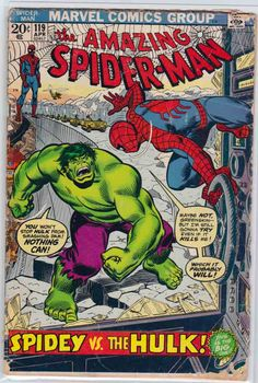 AMAZING SPIDER-MAN #119 (1973). Written by Gerry Conway. John Romita Sr Pencils & Cover Art.