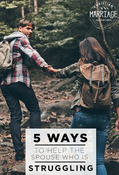 Do you have a spouse who is facing a difficult season in life? Here are 5 ways to help the spouse who is struggling. Plus, this marriage advice will help strengthen your marriage, even in the storms of life. Communication In Marriage, Intimacy In Marriage, Biblical Marriage, Marriage Prayer, Best Marriage Advice, Relationships, Christian Wife, Christian Marriage, Christ Centered Marriage