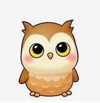 Little Owl Cutie Cute Animal Drawings, Kawaii Drawings, Cartoon Drawings, Cute Drawings, Owl Clip Art, Owl Art, Baby Owls, Baby Animals, Cute Cartoon Animals