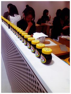 Rose Bakery, Dover St. Market, Ginza -- The Marmite shot