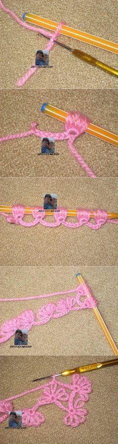 Вязание, валяние [] # # #Broomstick #Lace #Crochet, # #Crochet #Lace, # #Crochet #Stitches, # #Tutorials, # #Scarfs, # #Knitting, # #Crochet, # #Weave, # #Flowers