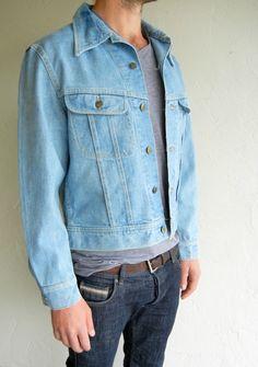 Lee Light Blue Western Denim Jacket $115.00