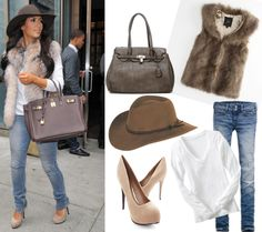 FabFashionFix - Fabulous Fashion Fix | Style Guide: How to wear Faux Fur vest?