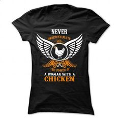 WOMAN WITH A CHICKEN - #couple shirt #hoodie casual. CHECK PRICE => https://www.sunfrog.com/LifeStyle/WOMAN-WITH-A-CHICKEN-Ladies.html?68278