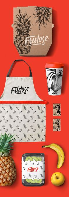 Branding design for Frutose.                                                                                                                                                      More