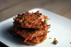 7. Carrots and scallions are a match made in latke heaven. | Community Post: 23 Delicious Vegetarian Hanukkah Recipes