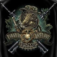 United States Marine Corps First In Last Out! For my brother Once A Marine, Marine Mom, Us Marine Corps, Marine Life, Marine Tattoo, Usmc Tattoos, Military Tattoos, Badass Tattoos, Us Marines