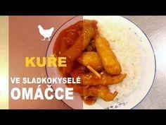 Kuře ve sladkokyselé omáčce - YouTube