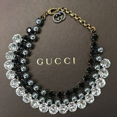 Gucci Stone Necklace Choker NIB Brand new in box Gucci choker. A piece of art. Gorgeous piece. Dustbag and controllato card included. Made in Italy. Gucci Jewelry Necklaces