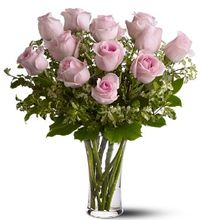 A Dozen Pink Roses, Allen's Flower Market Roses, Reseda Florist Valentine's Flowers.  Pretty, pink and perfect. There's nothing like long-stemmed pink roses to show your affection.  http://www.allensflowermarketonline.com/a-dozen-pink-roses/