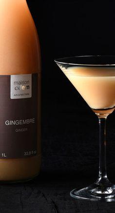 maison edem  jus et nectar de fruits exotiques www.maison-edem.com White Wine, Alcoholic Drinks, Bottle, Glass, Food, Exotic Fruit, Juice, Home, Drinkware