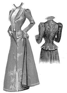 Victorian Era Fashion | Victorian Era Costume Patterns