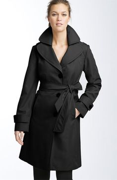 Cute trench coat!