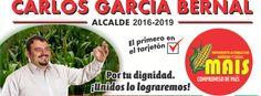 Carlos Alberto García Bernal - MAIS Alberto Garcia, Socialism