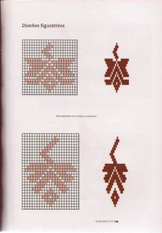 TELAR MAPUCHE.pdf Tapestry Crochet, Crochet Poncho, Inkle Weaving Patterns, Inkle Loom, Crochet Chart, Cross Stitch Patterns, Chile, Textiles, Embroidery