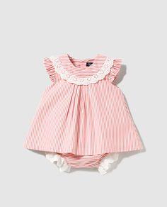 Baby Girl Dress Patterns, Baby Dress Design, Little Girl Dresses, Baby Dresses, Baby Girl Romper, Baby Girl Shoes, My Baby Girl, Baby Girls, Baby Baby