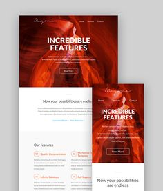 Magma - Email Template  EmailBuilder