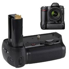 New Battery Grip For Nikon D80 D90 MB-D80 & More with IR REMOTE! by Neewer. $38.94. Battery Grip Features: Brand New Pro Battery Grip for NIKON D80/D90. Hold up to 6 AA batteries or one/two EN-EL3e Li-ion batteries. Professional edition with vertical-grip shutter-release button, Main command dial, Sub-command dial, AE-L/AF-L button. Vertical shutter with half-press function. Power ON/OFF Button. IR remote included. Control the shutter with infrared remote controller. 1/4...