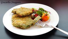 Cotolette+di+pollo+e+spinaci+-+simil+spinacine+-+al+forno