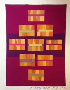 crazy mom quilts: the lipstick quilt