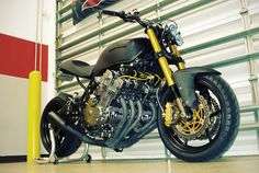 """In 1979, the Honda CBX Super Sport was the fastest production motorcycle in the world. And it still looks sharp today. This brutal-looking machine is owned by Javier Cragnolini, an Audi Technical Instructor from Florida, who rescued the bike from a drag racer. """"The bike… Read more »"""