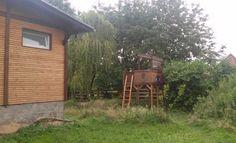 Selbstgebautes Baumhaus