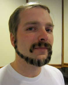 No Shave November: Cat tail facial hair! Beards And Mustaches, Moustaches, Bart Design, Hipster Bart, Bart Trend, Taper Fade, Crazy Beard, Nice Beard, Does Your Mother Know