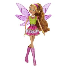 "Amazon.com: Winx Club 11.5"" Basic Fashion Doll City Style Collection - Flora: Toys & Games"