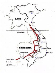 Ho Chi Minh Routes