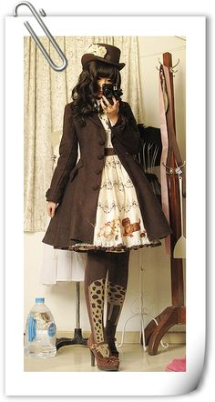love every thing on her. Outfit by Princutess #lolitafashion #lolita