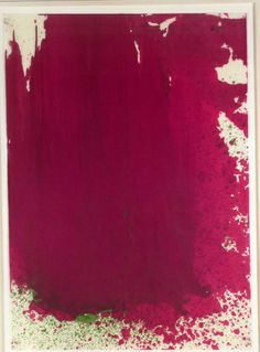 Been looking for a magenta piece for the living room...     WOOL 31  11 3/4 x 13 1/2 inches