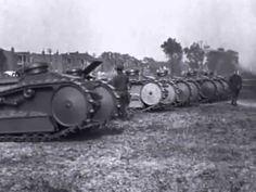 WW1: Trials on the Ford 3-Ton M1918 Light Tank, Highland Park, Michigan, U.S.A.(1918) - YouTube