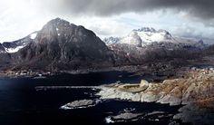 """Una #location a dir poco incredibile ed un #Hotel suggestivo perfettamente integrato con la natura circostante e nel rispetto della #sostenibilità ambientale.  Si tratta del progetto architettonico firmato Snøhetta che prevede la realizzazione del """"Lofoten Opera Hotel"""" tra il mare e i monti Norvegesi."""