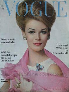 Vogue Juillet 1962.
