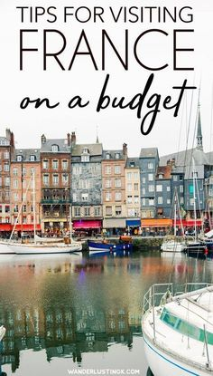 Traveling to Paris on a budget? Tips for visiting France on a budget with cost cutting travel tips for your trip to France to save money on hotels, food, and tours. #Travel #France #Europe #Paris #budgettravel #travelingonabudget #paristravel #traveltips