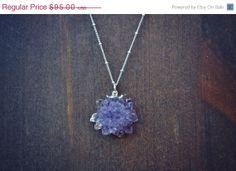 ON SALE Druzy Galaxy /// Electroformed Gemstone /// by luxdivine, $80.75
