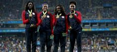Tianna Bartoletta, and team