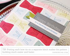Card Ideas for the Men in Your Life & Diy On A Budget, Your Life, Card Holder, Bows, Make It Yourself, Birthday, Pattern, Projects, Cards