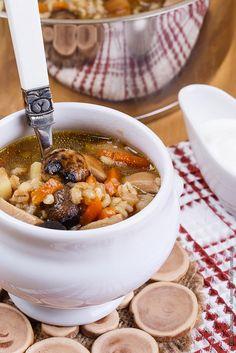 Mushroom soup by Shomova, via Flickr